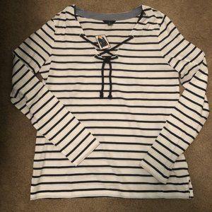 Nautica Striped Long Sleeve tshirt